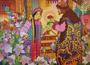 Встреча «В царстве аленького цветочка»