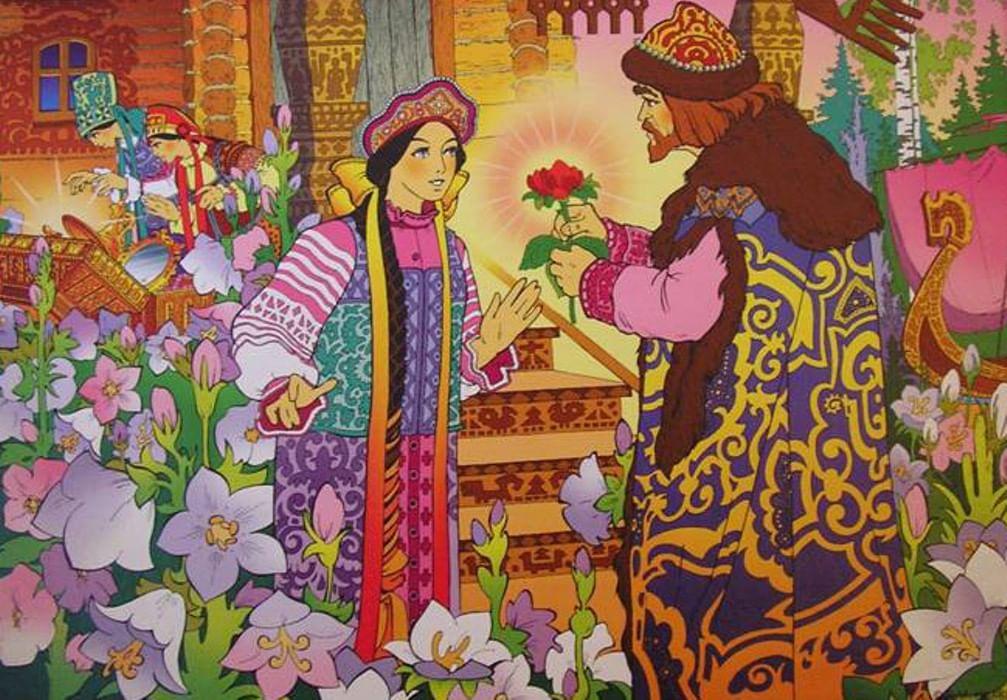 жук-дровосек сюжетные картинки к сказке аленький цветочек кружке лучшие обои