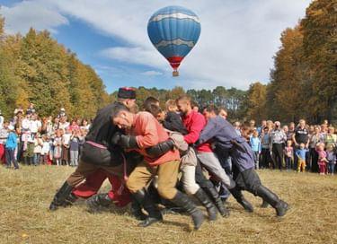 Праздник «В память о Куликовской битве. Богатырские забавы»