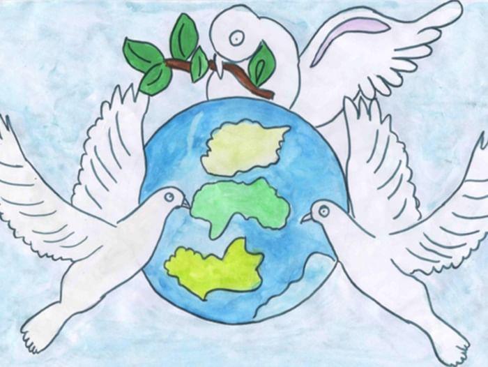 Конкурс рисунков «Голубая планета»