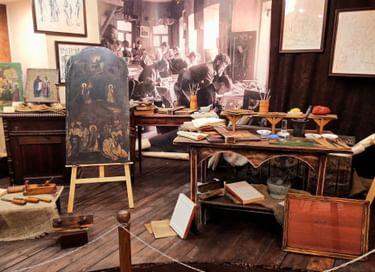 Выставка «Иконописная, иконостасная и ризочеканная мастерская И. А. Панкрышева с С-ми»