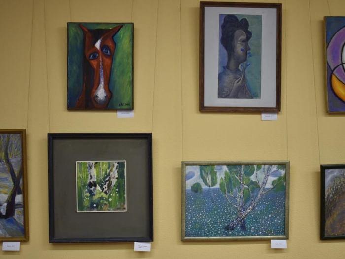 Выставка картин Алексея Чугунова