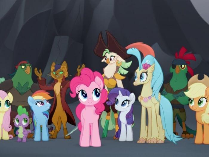Показ мультфильма «My Little Pony в кино»