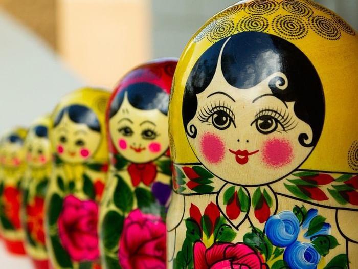 Игровая программа «Матрёшка – русская краса»