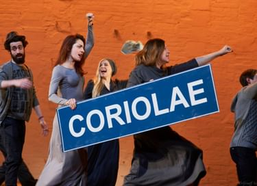 Спектакль «Кориолан»