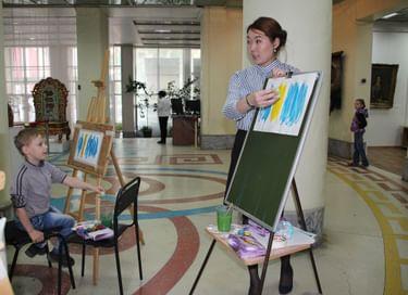 Мастер-классы от Художественного музея им. Ц. С. Сампилова