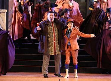 Опера «Бал-маскарад»