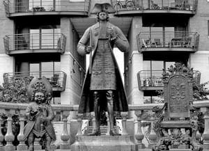 Памятник Петру I в Лондоне