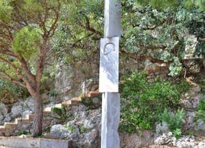Памятник Ленину на острове Капри