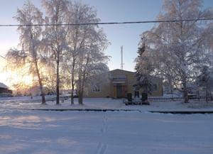 Дом культуры деревни Тошвиска