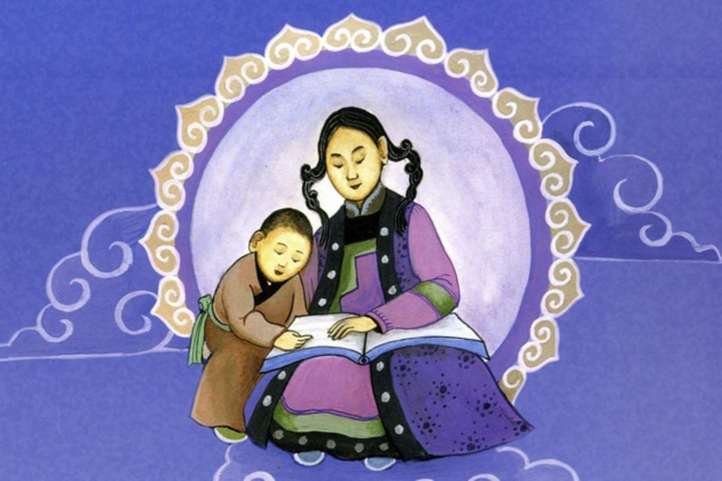 Дорожу, монгольские открытки с добрым утром