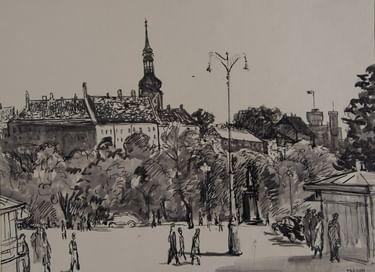 Выставка художницы Тамары Рейн «Жизнь как путешествие»