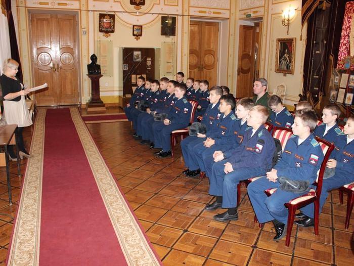 Всероссийская акция «День в музее для российских кадет»