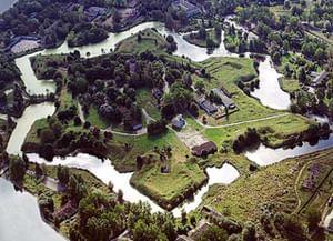 Даугавгривская крепость в Риге