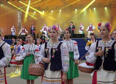 День города в Абинске на стадионе «Виктория»