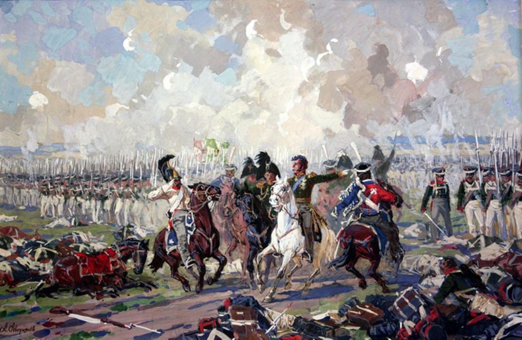 бородинское сражение в картинах художников бесконечном сопротивлении