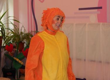 Спектакль «Оранжевый ёжик»