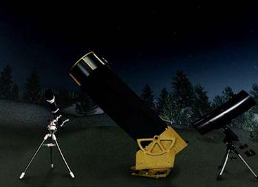 Программа «Два стеклышка (удивительный телескоп). Звёздное небо Нижнего»