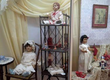 Выставка «Игрушки моего детства»