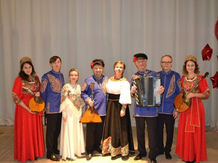Концертная программа ансамбля народной музыки «Сибирская забава»