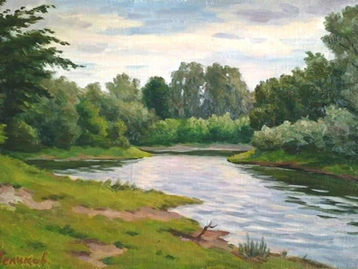 Выставка «Краски лета»