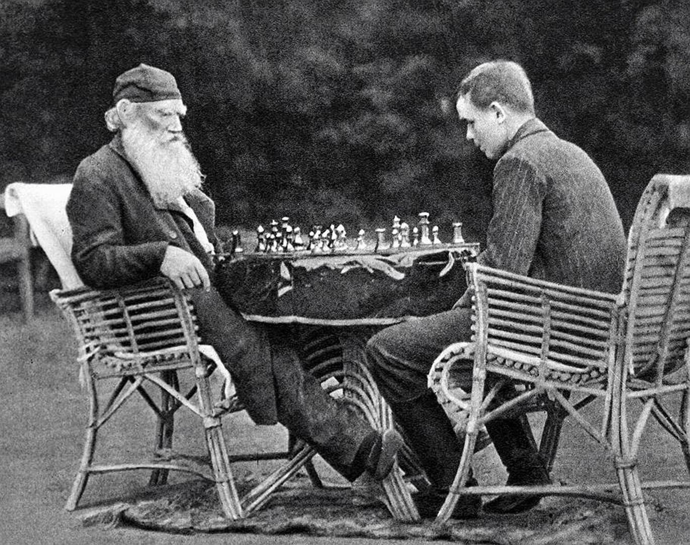 Русские писатели – спортсмены (Толстой)