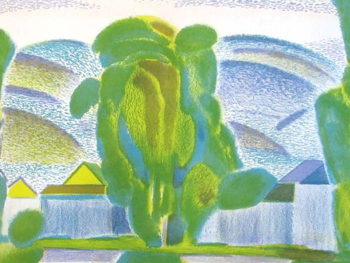 Выставка графики Павла Маскаева