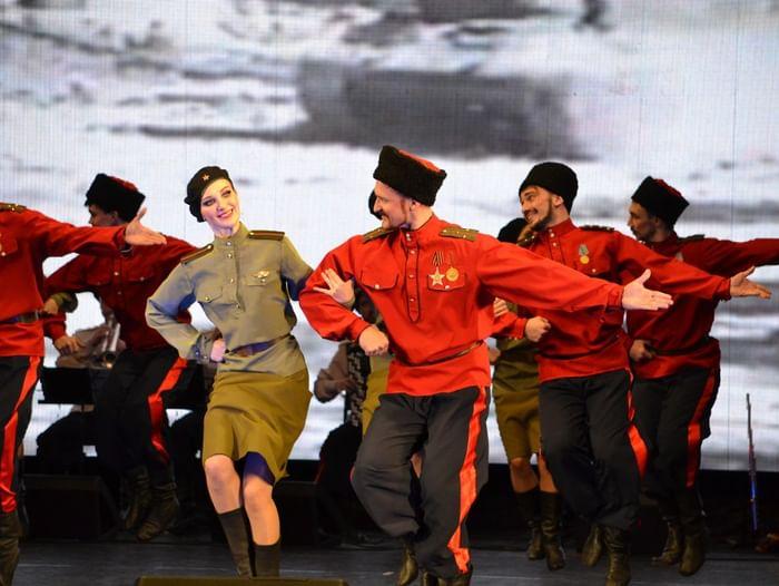 Открытие концертного сезона театра танца «Казаки России»