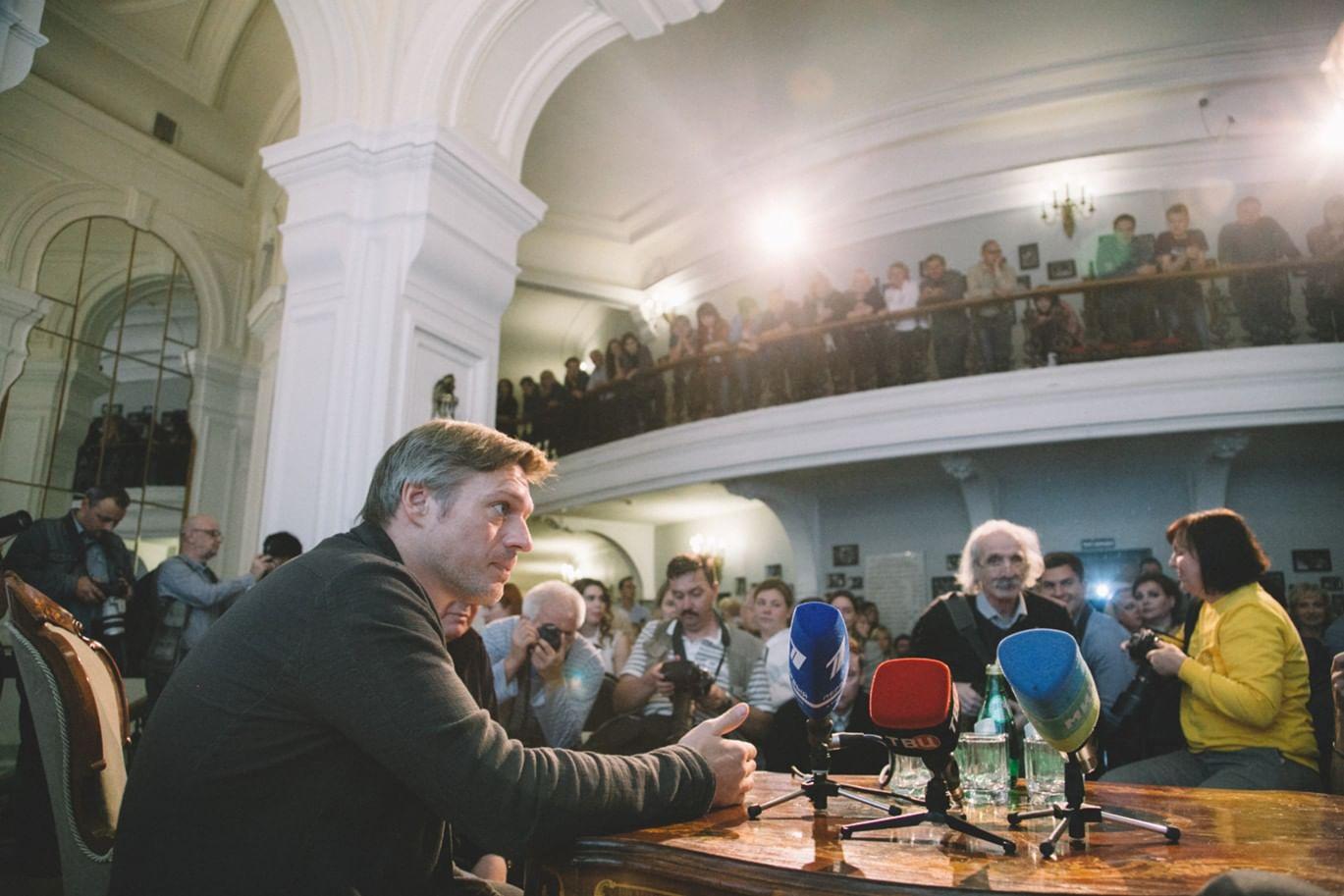 Миндаугас Карбаускис. Фотографии предоставлены пресс-службой Театра Маяковского