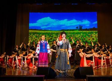 Концерт Кубанского казачьего хора в Иваново