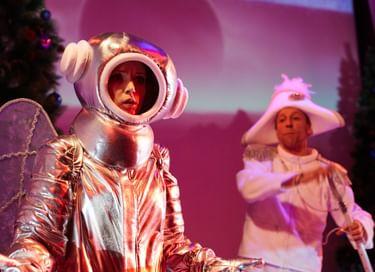 Спектакль «Космические приключения Белки и Стрелки»