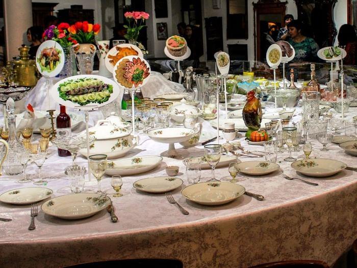 Выставка «Праздничный стол»