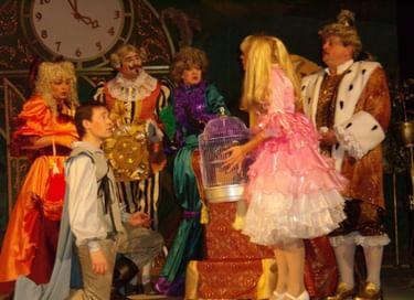 Спектакль «Принцесса и свинопас»