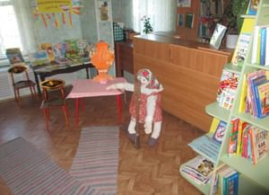 Детская библиотека с. Большое Село