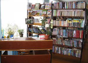 Урицкая сельская библиотека-филиал