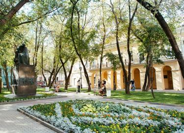Экспозиция Дома Н. В. Гоголя
