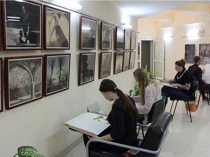 Ночь искусств в Крымской республиканской универсальной научной библиотеке им. И. Я. Франко