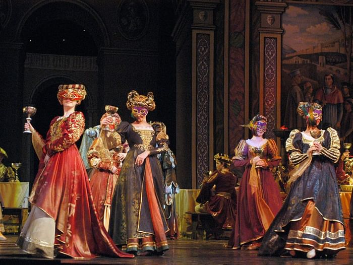 Спектакль «Ромео и Джульетта»