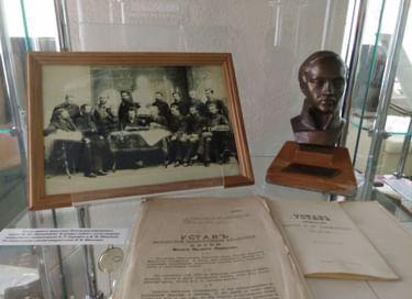 Выставка «История библиотеки. Как все начиналось...»