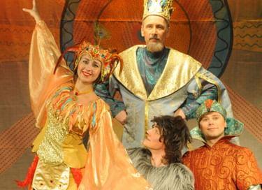 Спектакль «Иван Царевич и Серый Волк»