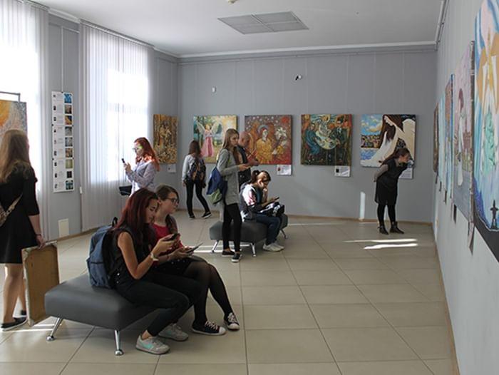 Ночь искусств в Кузбасском центре искусств
