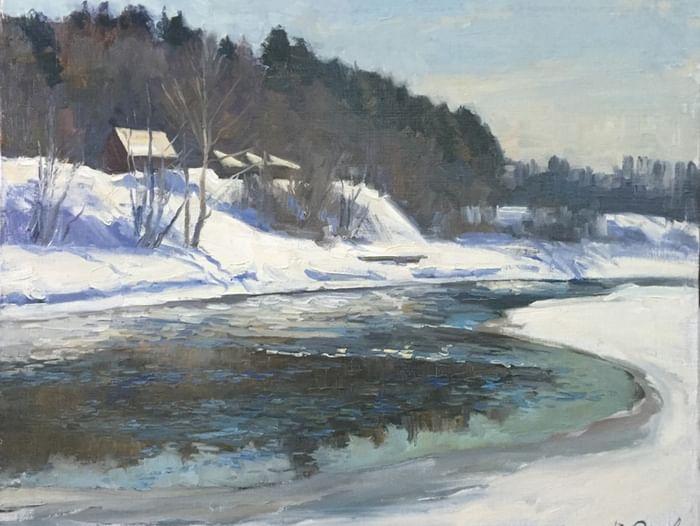 Выставка работ Виктора Орлова