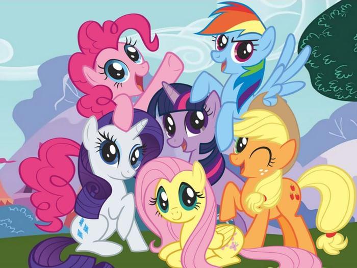 Показ фильма My little pony