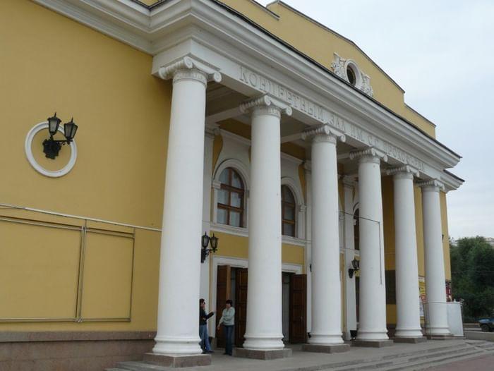 Выступление американской певицы Шарон Кларк в Челябинске
