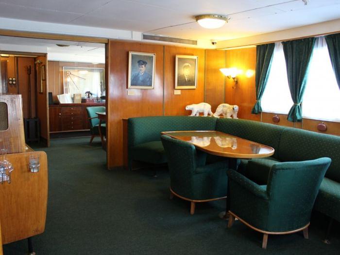 Обзорная экскурсия по ледоколу «Красин»