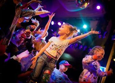 Детский праздник «Танцуем вместе»