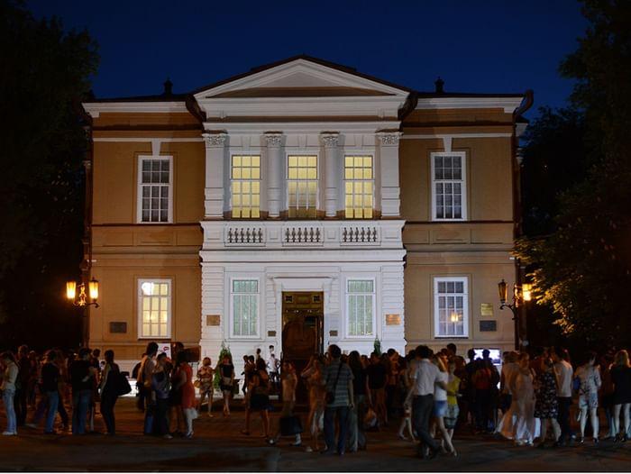 Ночь искусств в Радищевском музее