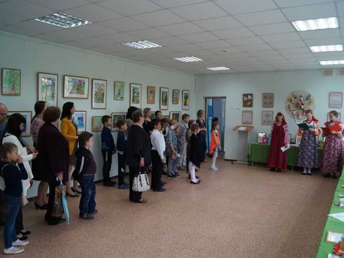 Художественная выставка «Моя Россия»