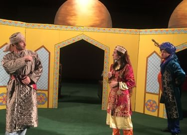 Спектакль «Золотой осел Насреддина»
