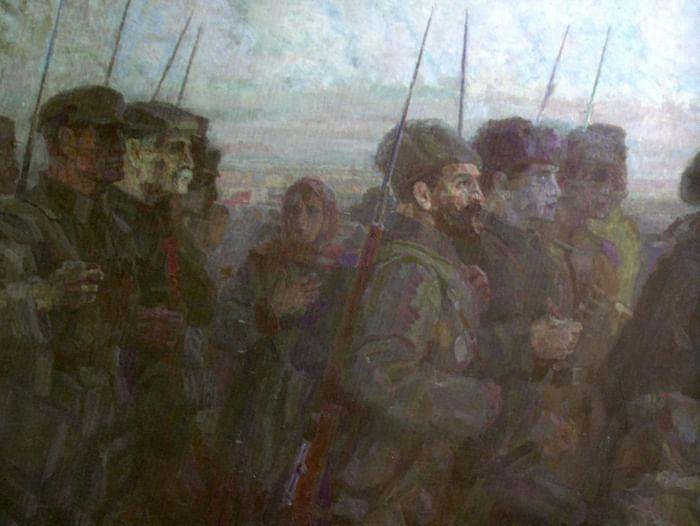 Знакомство с выставкой «Октябрь Владимира Зинина»